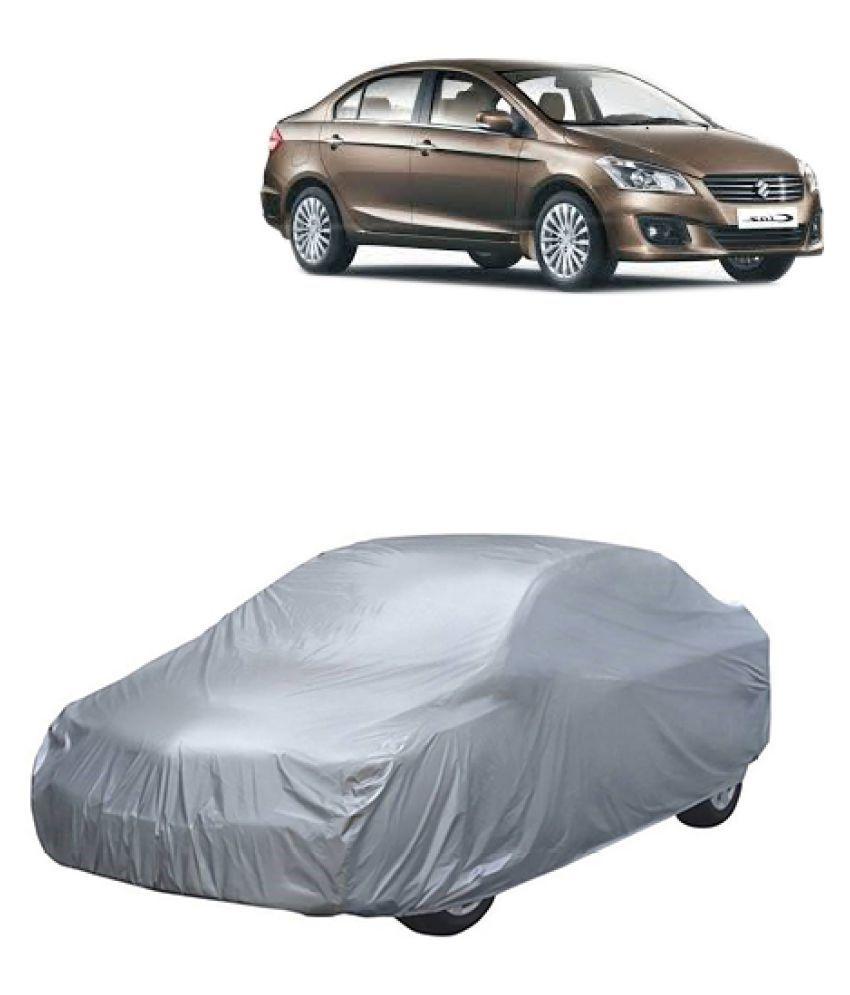 QualityBeast Car Body Cover for Maruti Suzuki Ciaz [2014-2015] Silver: Buy QualityBeast Car Body