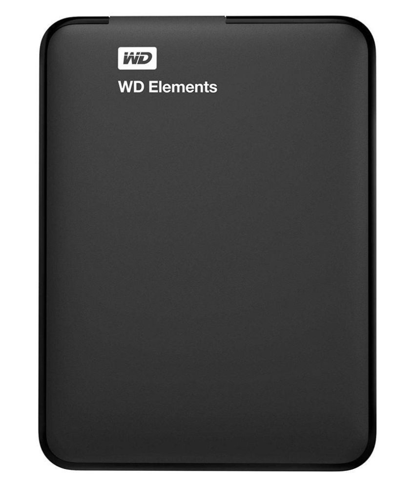 WD Elements 1.5 TB External Hard Drive (Black)