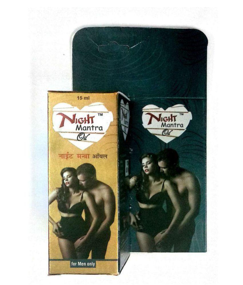 Herbalshoppe Night Mantra Massage Oil for Men, Oil 15 ml Pack Of 2