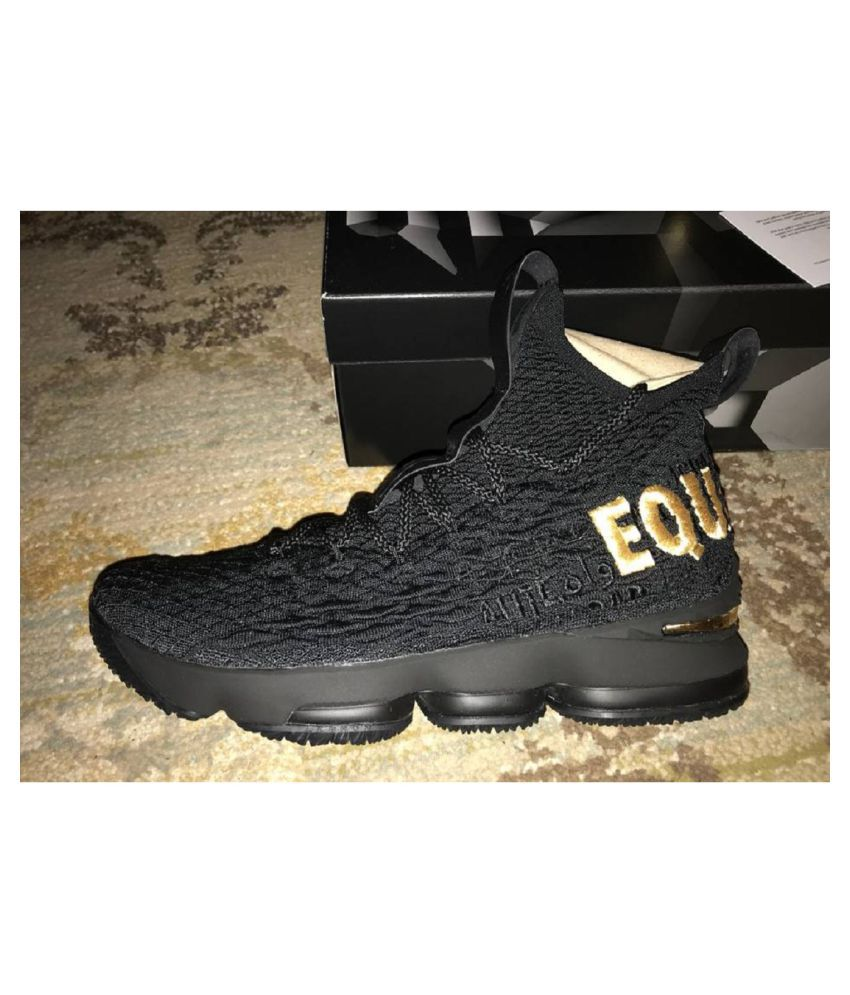 best loved 8a7cf 8c176 Nike LeBron 15 Equality Black Running Shoes