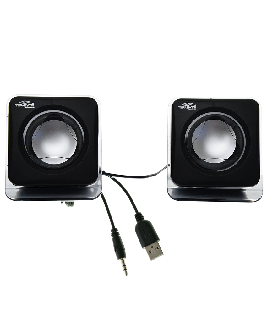 buy terabyte e 02b 2 0 multimedia speakers for laptop pc mobiles rh snapdeal com
