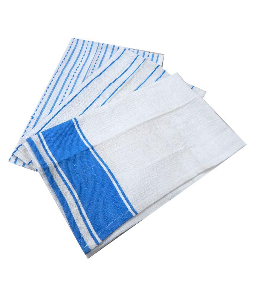 URBAN-TRENDZ Set of 3 45x66 Cotton Kitchen Towel