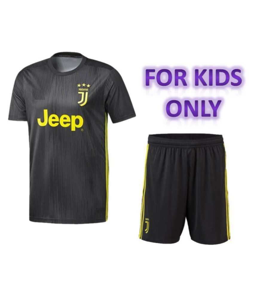 new products 5999f b307b Juventus Away Jersey with Shorts For Kids 18/19