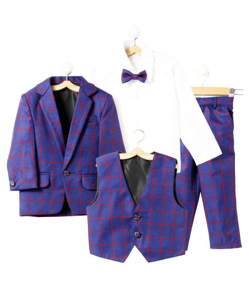 Jeet Blue Top &  Bottom Set For Boys