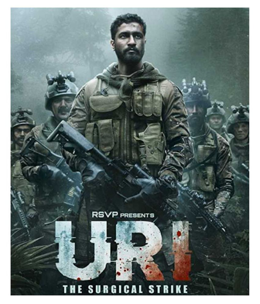 URI : The Surgical Strike & K G F : Chapter 1 in Hindi it's play only  computer or laptop HD print it's burn data DVD without poster ( DVD )- Hindi
