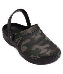 Svaar Lifestyle Black Casual Shoes