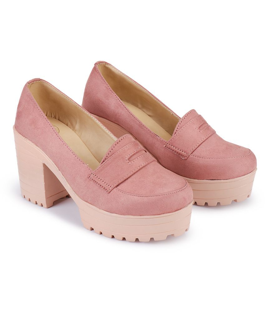 Deeanne London Pink Casual Shoes
