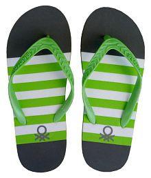 ae811248e8cd United Colors of Benetton Sports Slides   Flip Flops  Buy United ...