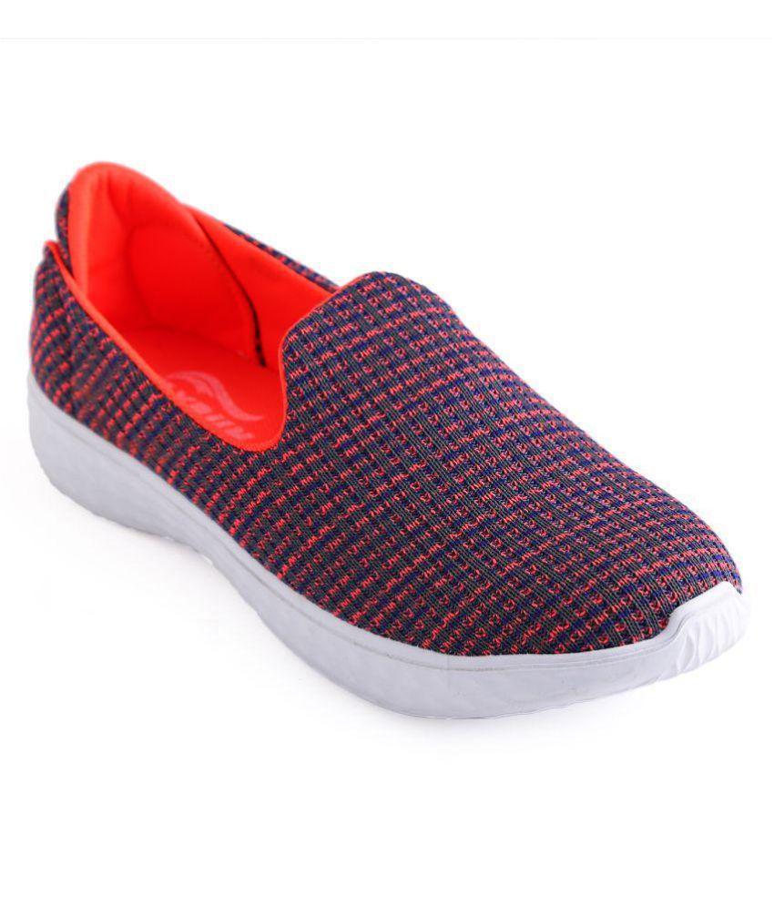 Alexus Orange Casual Shoes