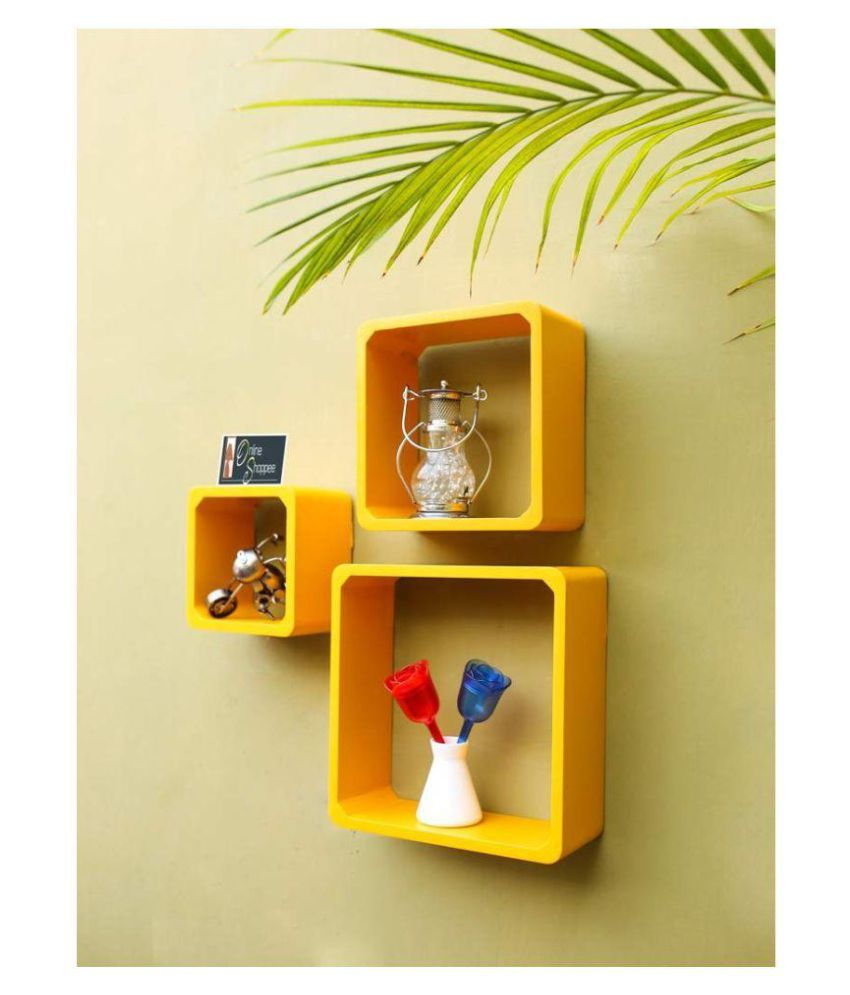Onlineshoppee Fancy handicraft design Wall Decor MDF Wall Shelf