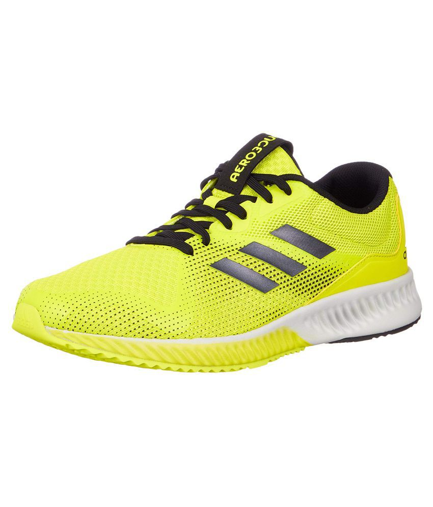 adidas running yellow