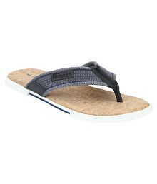 Red Tape Blue Textile Floater Sandals