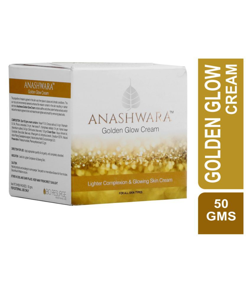Bio Resurge Life Anashwara Golden Glow  Night Cream 50 gm