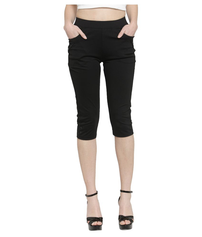 Global Republic Polyester Tights - Black
