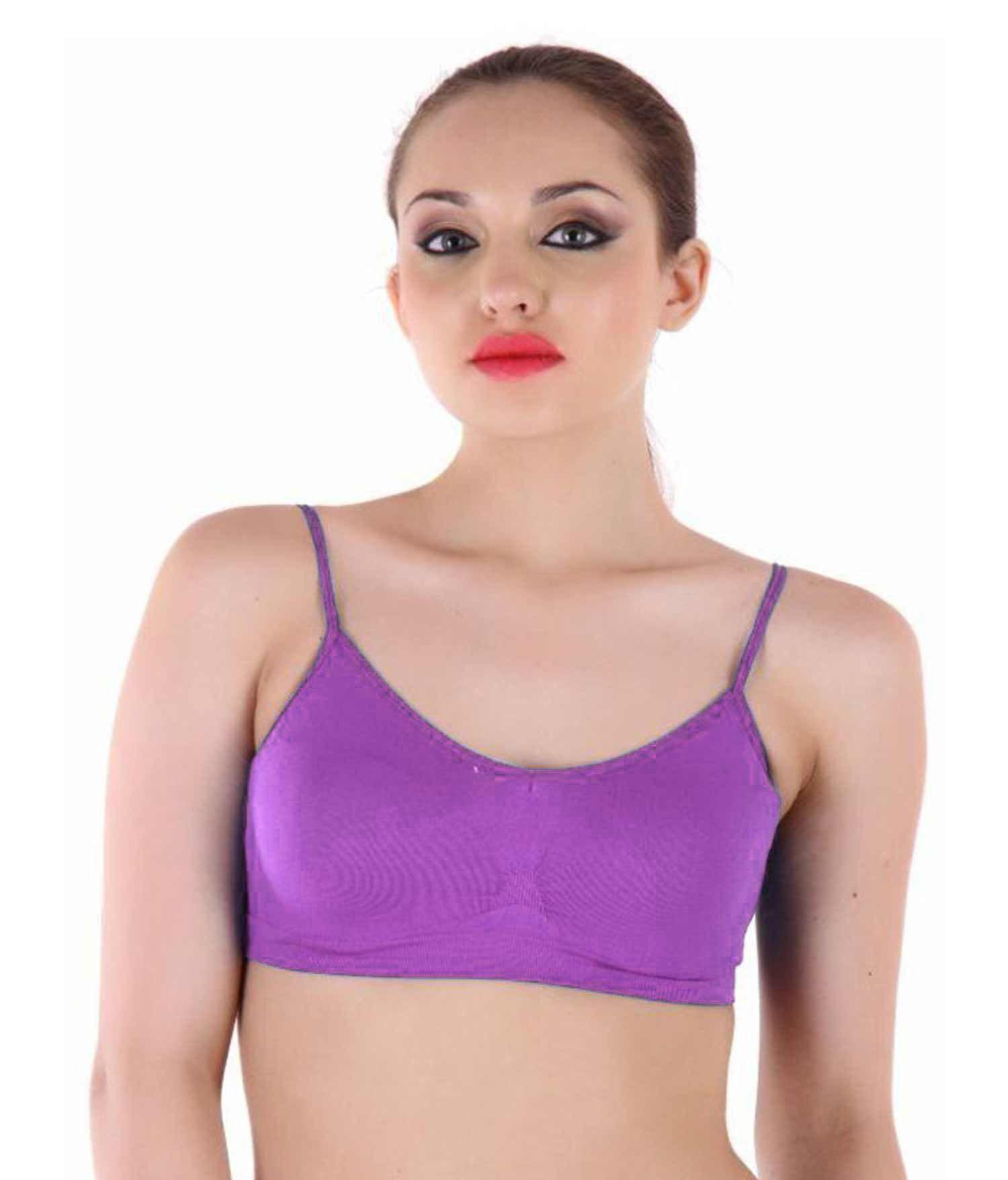 Durva Retail Cotton Cami bra - Multi Color