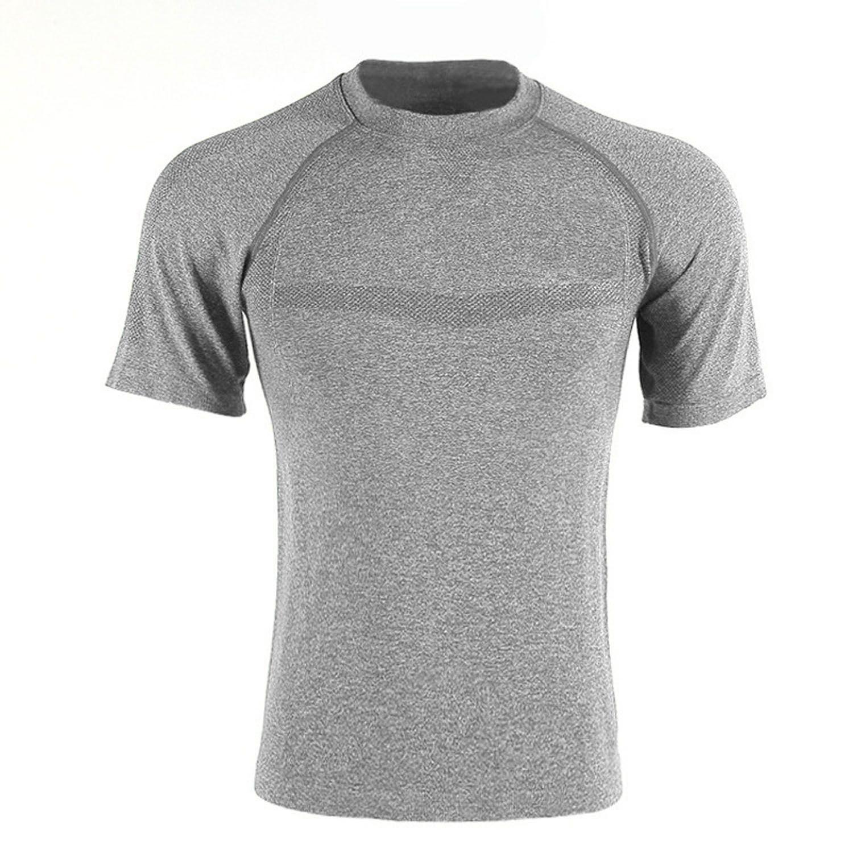SENTORINA Grey Nylon T-Shirt Single Pack