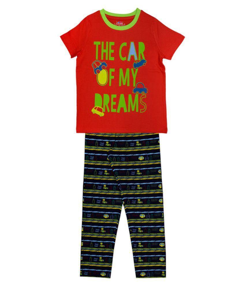 Ventra Kids Boys Car Dream Nightwear