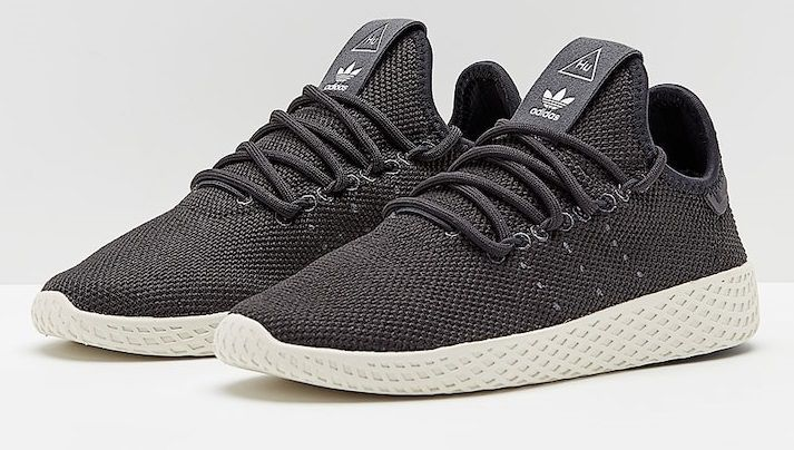 a6b94497f Adidas Pharrell Williams Tennis HU Black Running Shoes - Buy Adidas Pharrell  Williams Tennis HU Black Running Shoes Online at Best Prices in India on ...