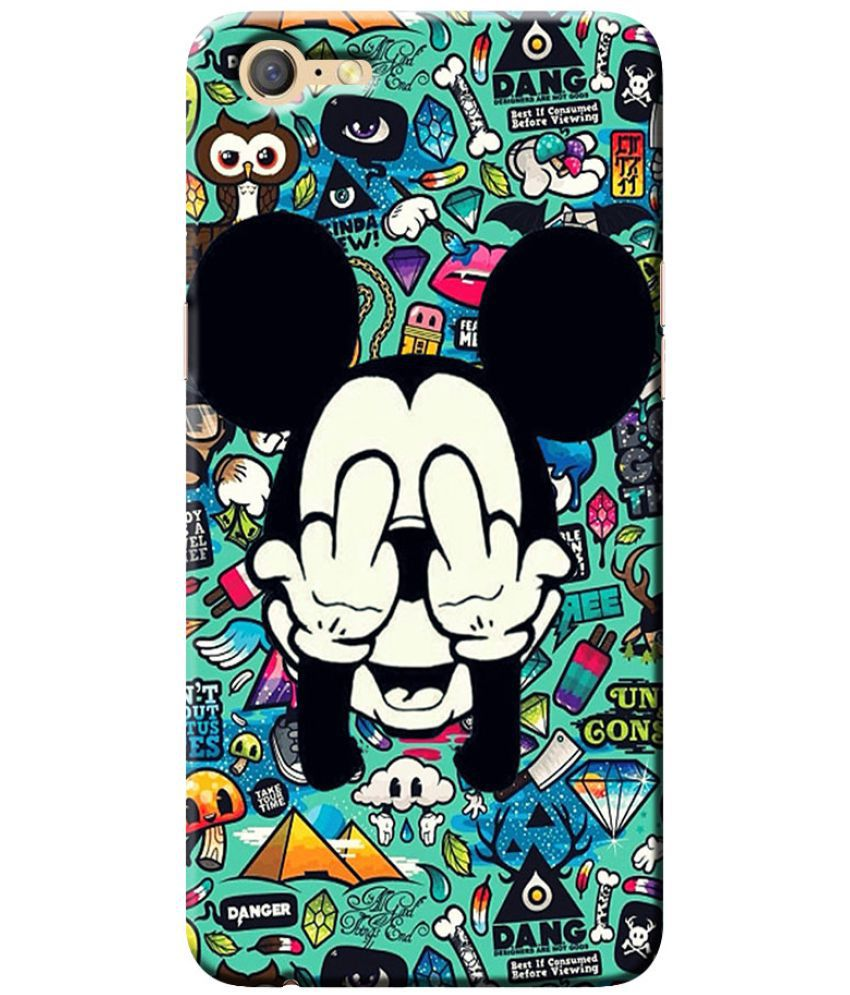Oppo A71 Printed Cover By Case King fadeproof