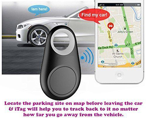 Crystal Wireless Bluetooth 4 0 Car Anti-lost Anti-Theft Alarm Device  Tracker GPS Car Parking Locator Key/Dog/Kids/Wallets Finder Tracer w/  Camera