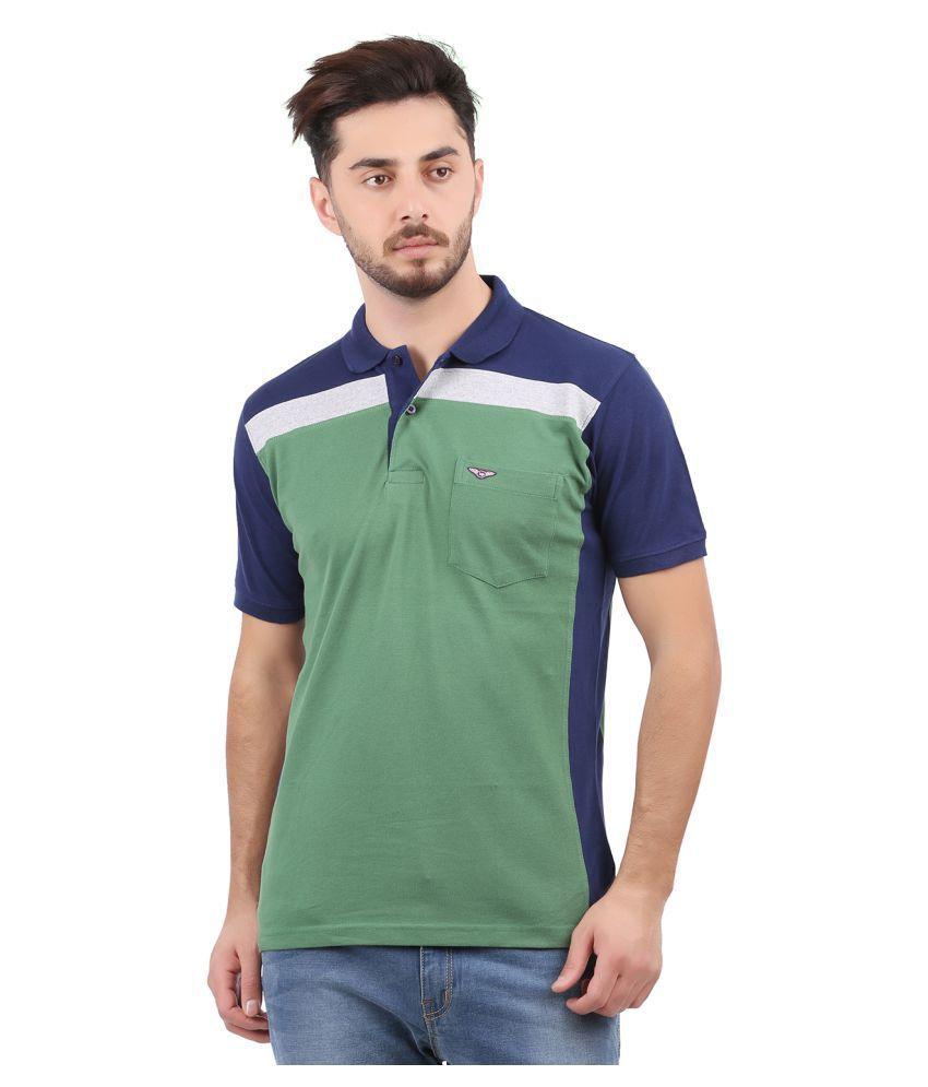 Wexford Green Regular Fit Polo T Shirt