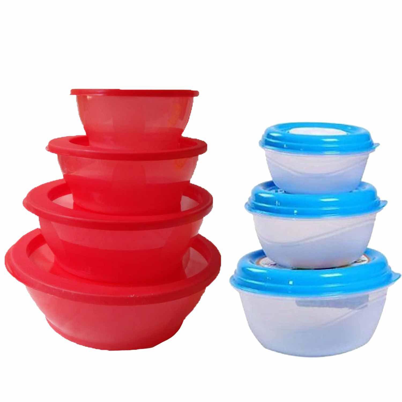 GreenViji Polyproplene Food Container Set of 7