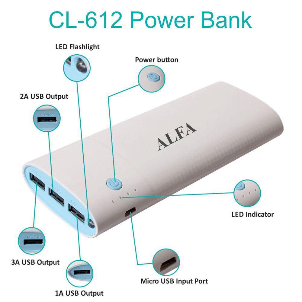 Harga Alfa Link Store Power Bank Ap 4000q Blue Smartphone Terbaru Source Blue . Source ·