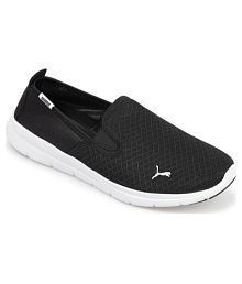 Puma Black Walking Shoes