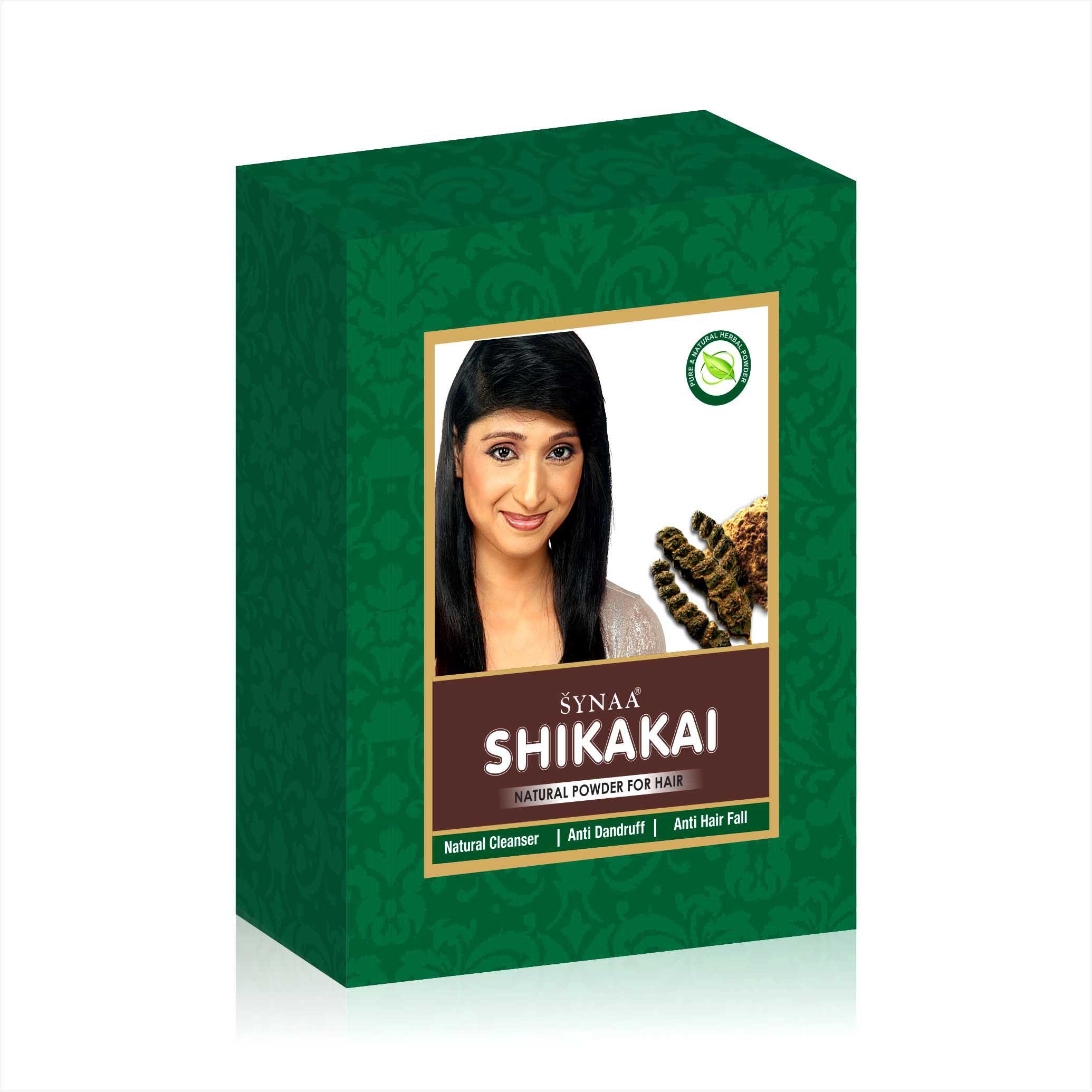 Synaa Shikakai Powder Herbal Powder for Hair Care (100g)