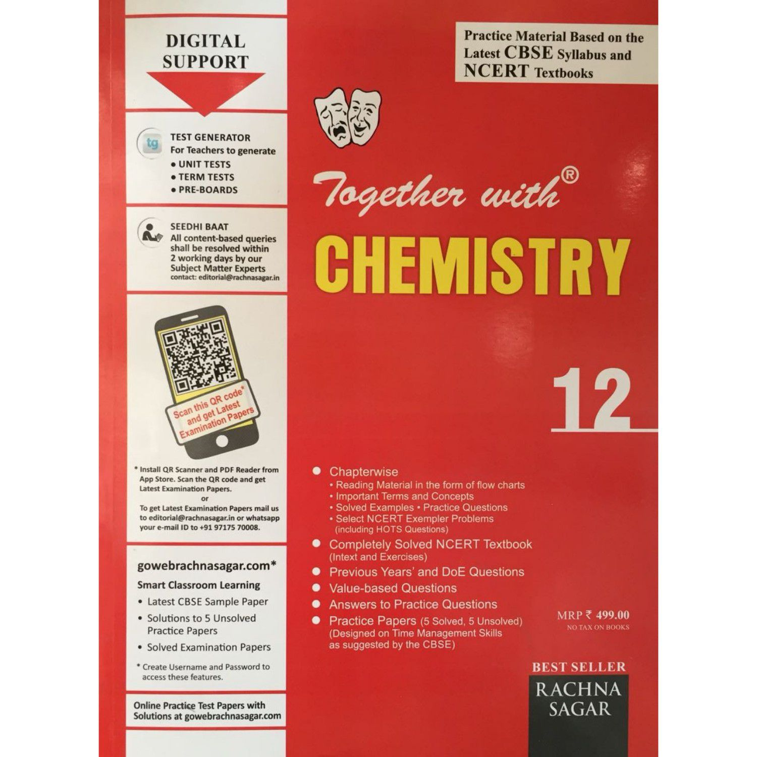 Together With Chemistry Book for Class 12