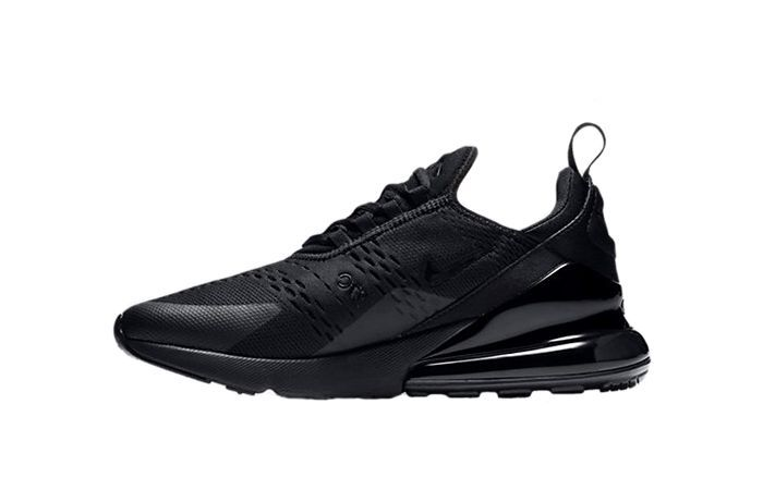 the latest 0213e 34caa ... purchase nike air 27 c black running shoes f56b1 ab386