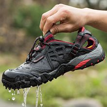 Men Outdoor Sneakers Breathable Hiking Shoes Men Women Outdoor Shoe Hiking Sandals Men Trekking Shoes Trail Water Sandals