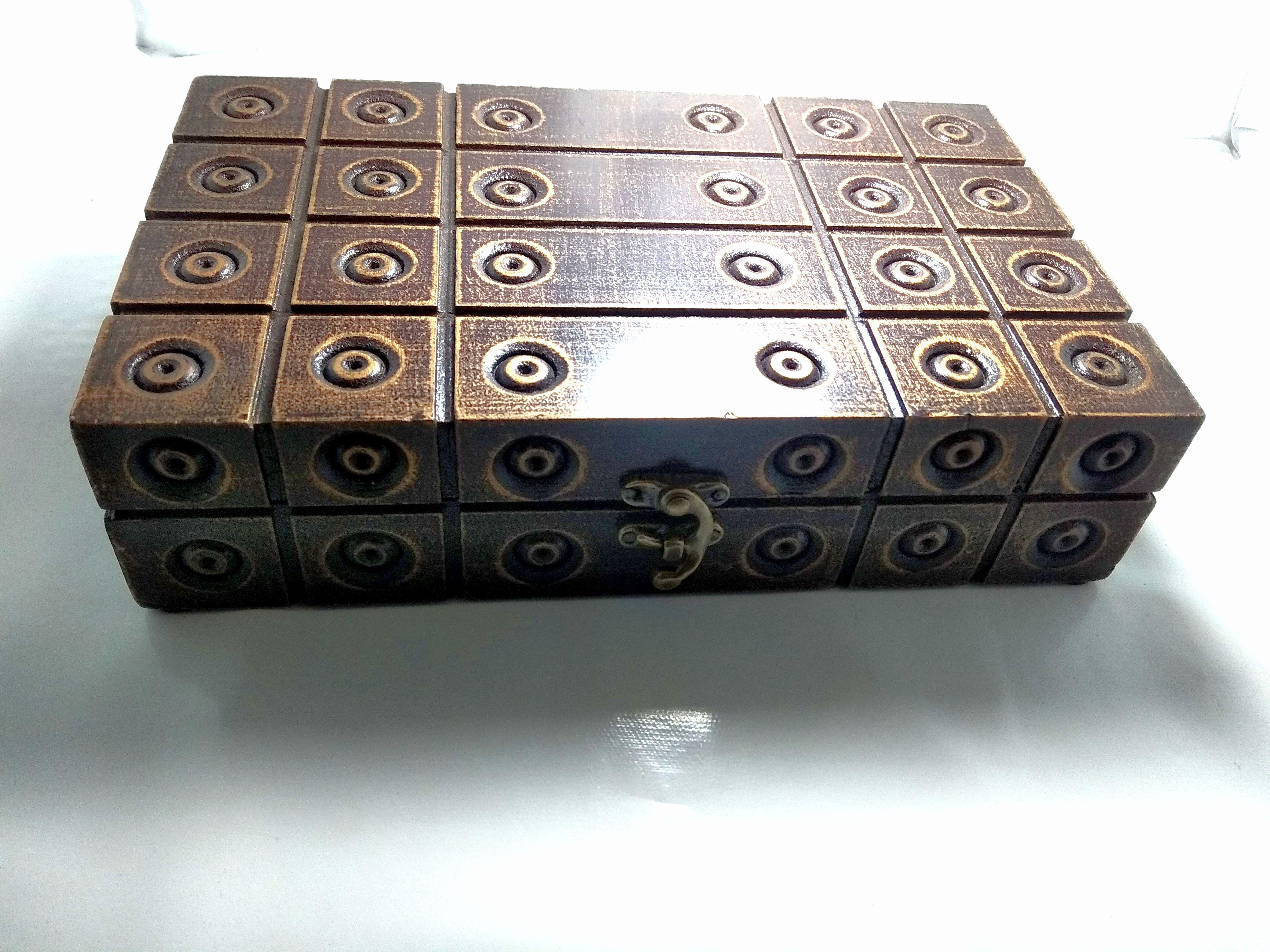 Shah Emporium Wooden Antique Box For Multi Purpose