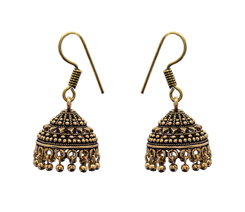 Stunning Traditional Drop Jhumkas