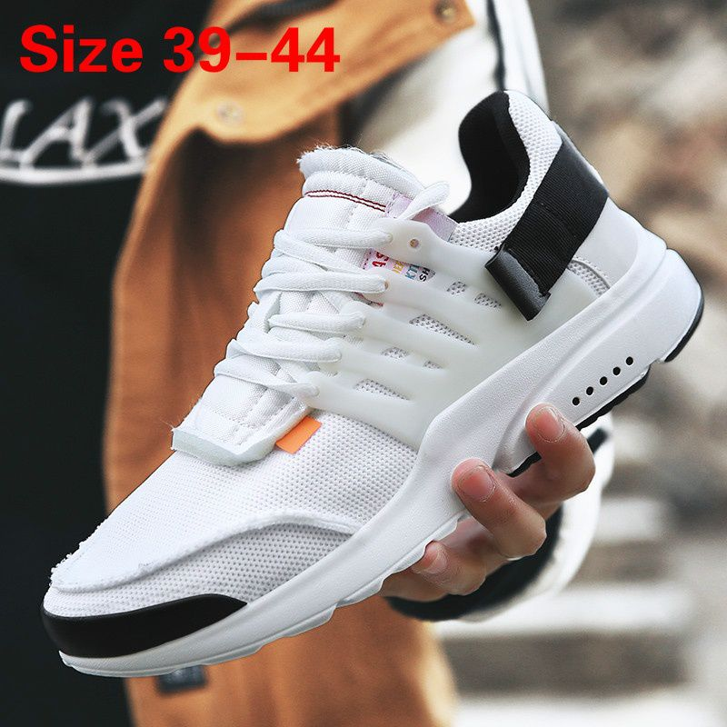 2018 New Fashion Men's Casual Running Sport Shoes Man Breathable Flats Shoes Size 39-44