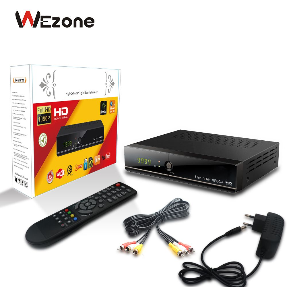 Buy Wezone 888 PLUS-A, Free 2 Air, MPEG4 Full HD Set Top Box