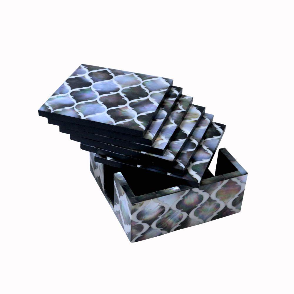 Meri Online Dukaan Black Crystal Handicraft Showpiece - Pack of 1