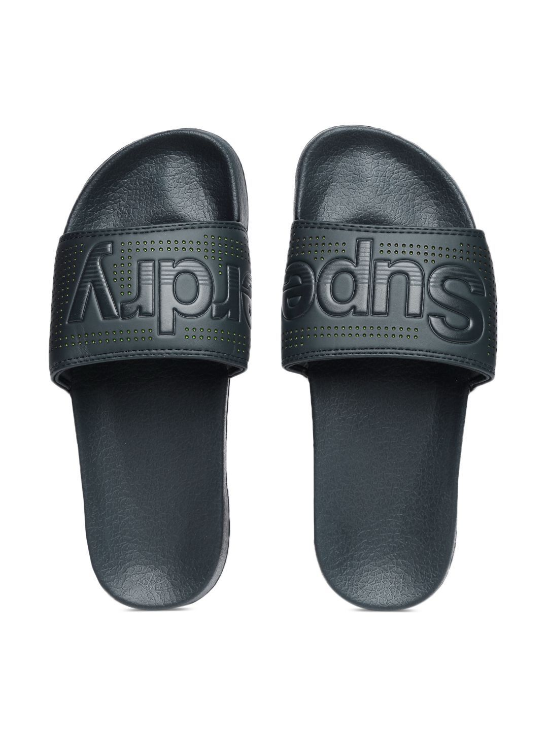 9972d5dbb491 Superdry Navy Slide Flip flop Price in India- Buy Superdry Navy Slide Flip  flop Online at Snapdeal