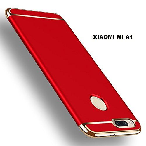 the best attitude 0beac c735b Xiaomi MI A1 Hybrid Covers BEASTIN - Red 3 in 1 Hybrid All Side Protection  Matte Hard Case