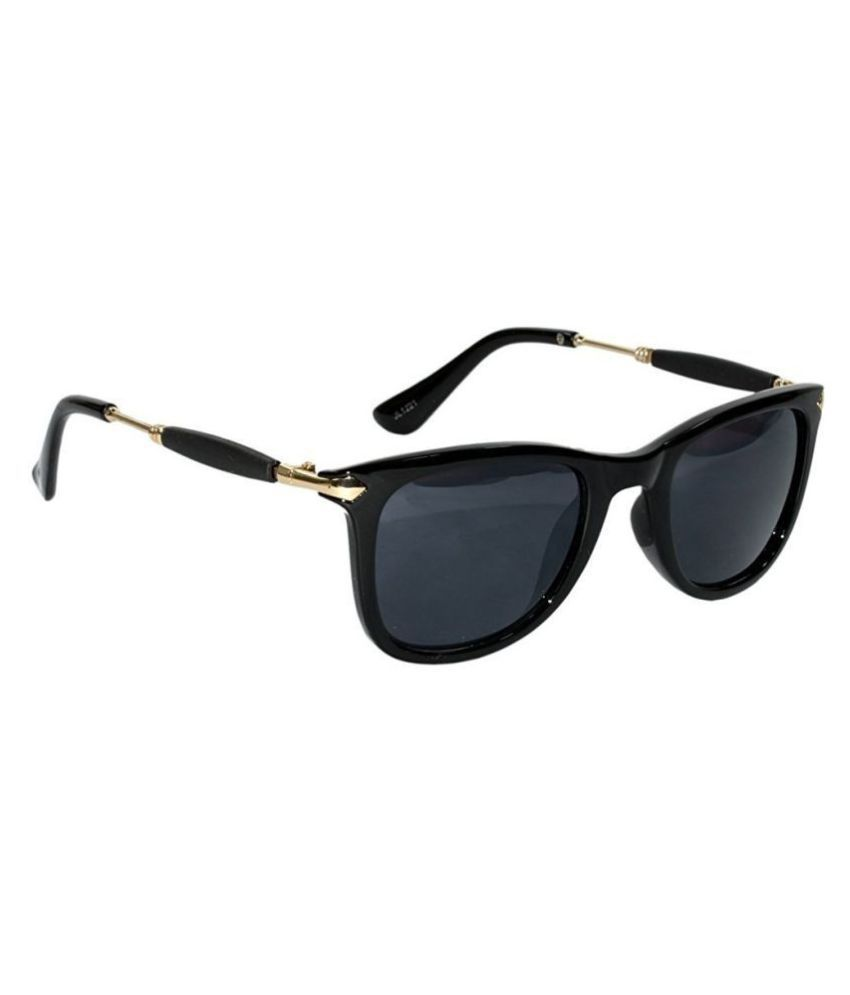 Ray Ban Avaitor Black Aviator Sunglasses ( 123 )
