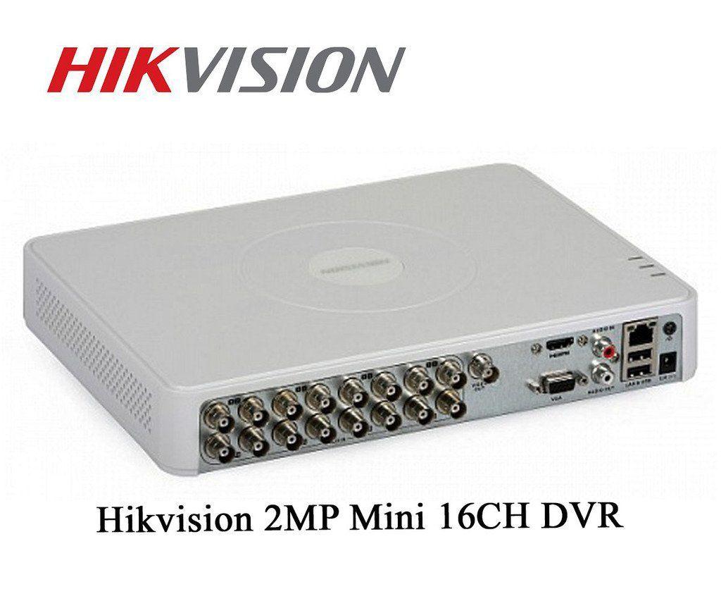 Hikvision DS-6016HQHI-K1 16 Channel DVR