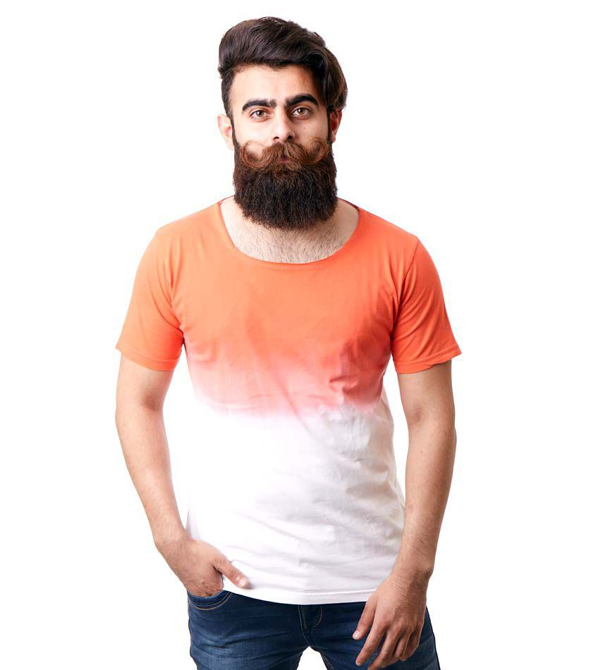 Rellin Orange Round T-Shirt Pack of 1