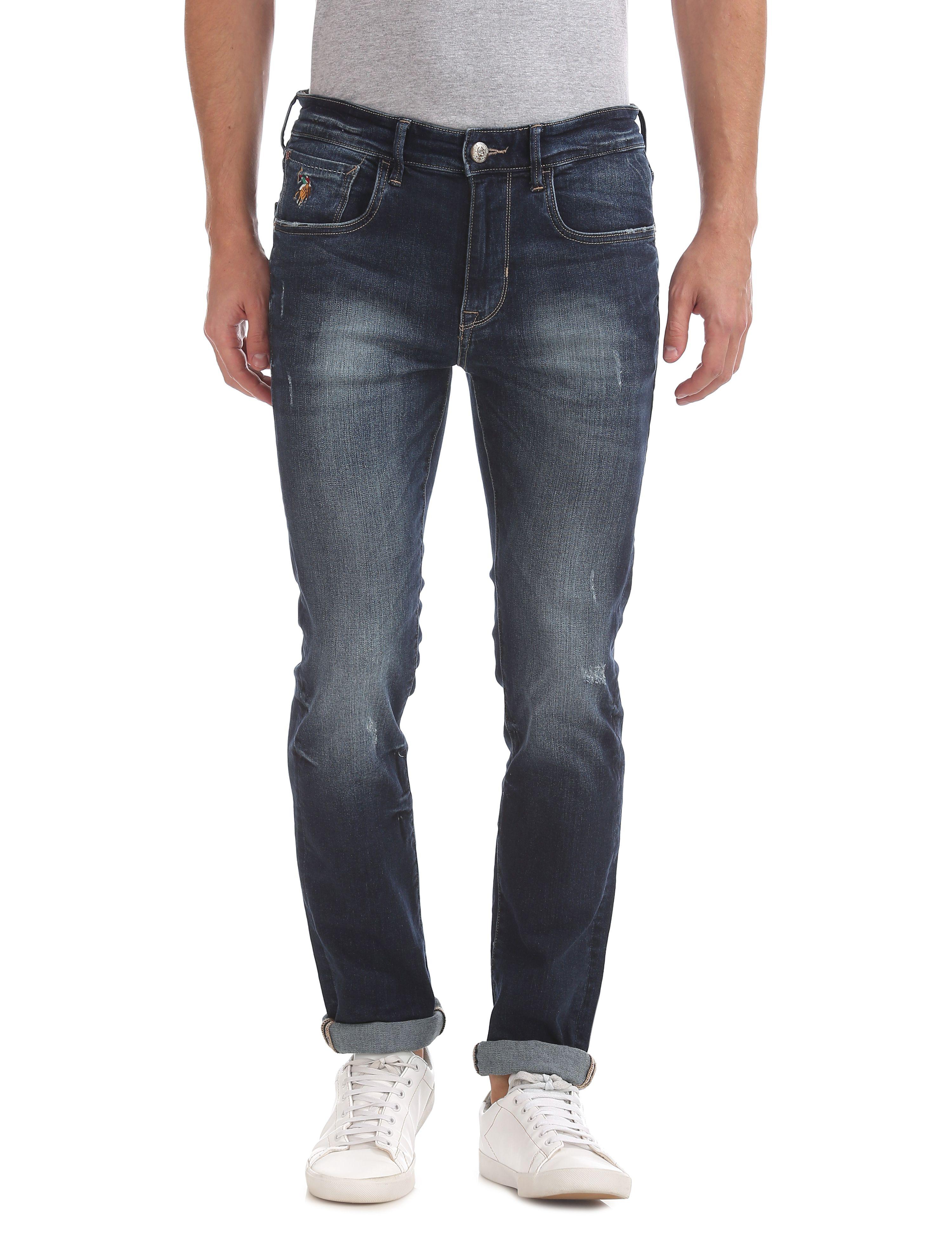 U.S. Polo Assn. Blue Skinny Jeans