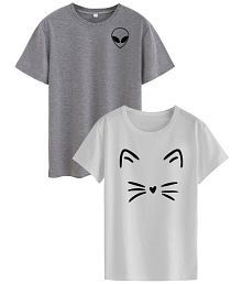 Neo Garments Cotton Multi Color T-Shirts