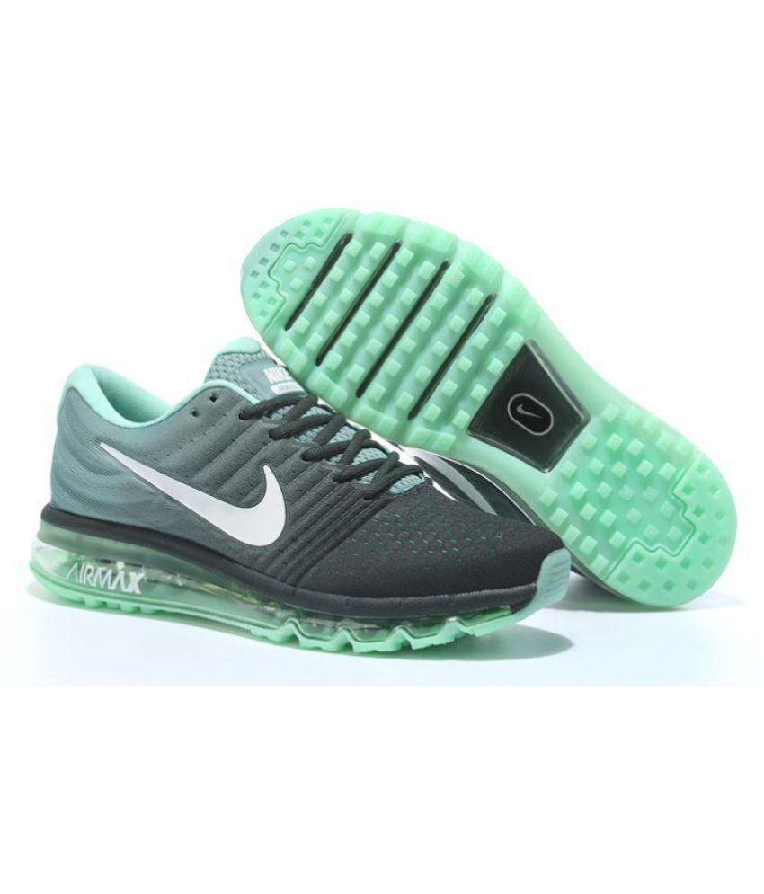 ... green 849559 006 mens nike sportswear 5b692 b7294  france nike air  airmax 2017 black running shoes af688 16322 54debfb23