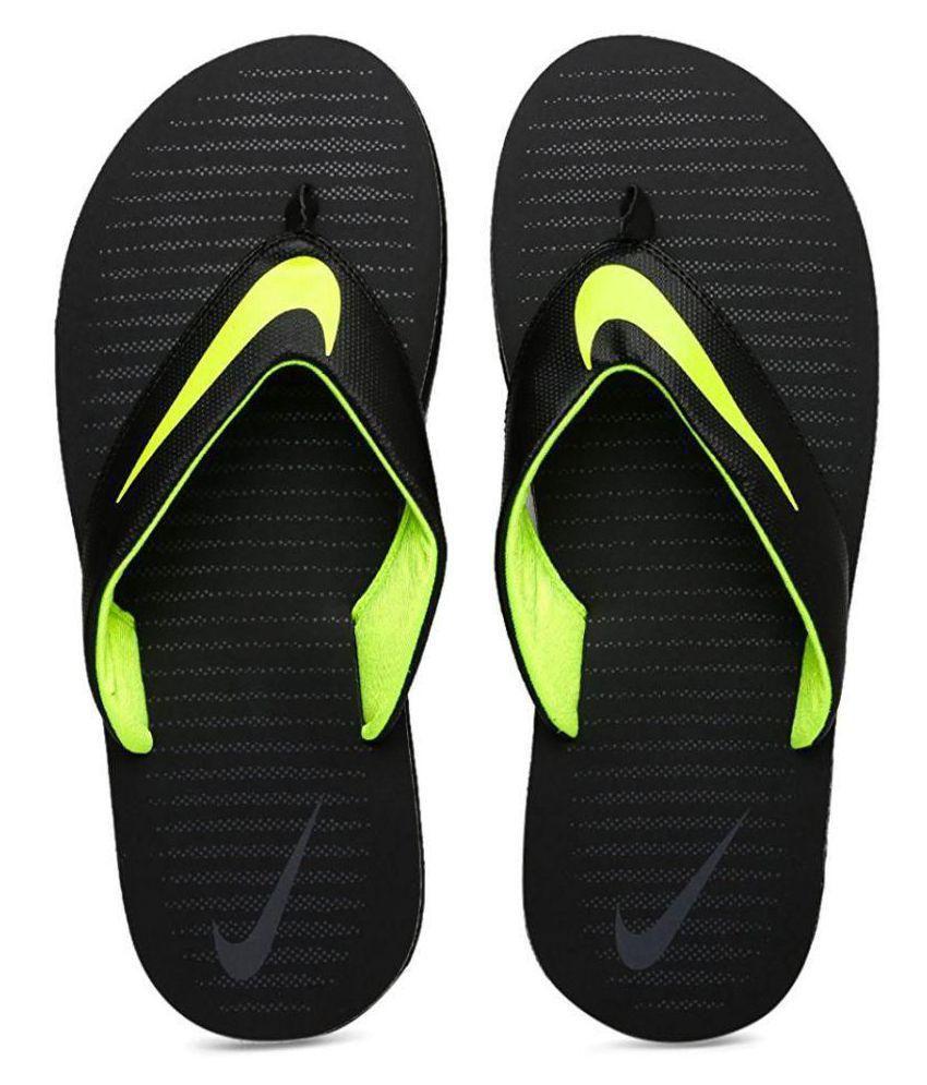 4d1afc12c173 Nike Black Thong Flip Flop Price in India- Buy Nike Black Thong Flip Flop  Online at Snapdeal