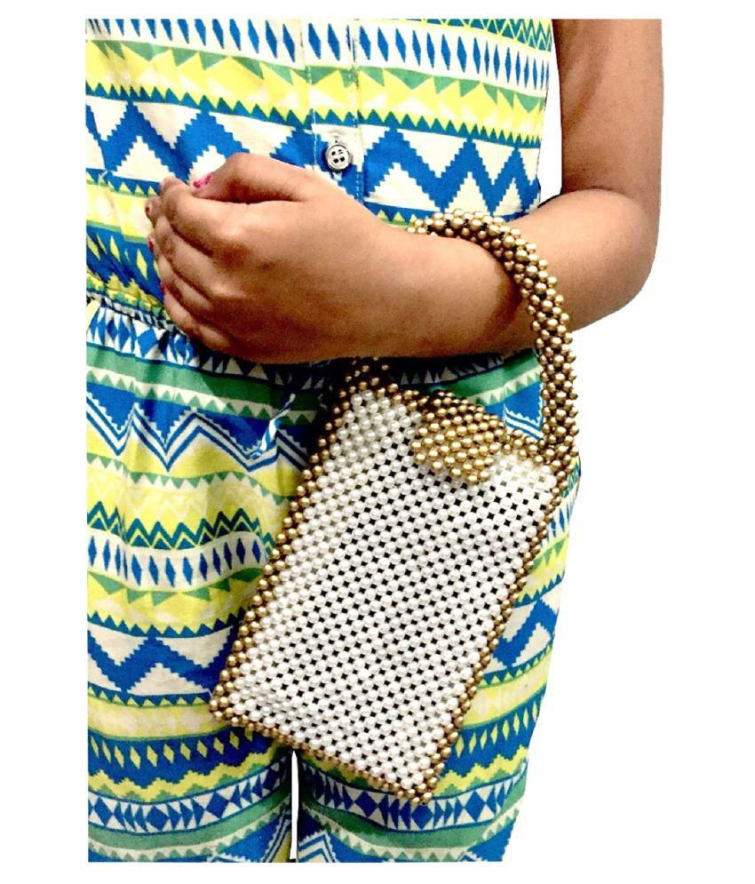 Harshika Fashion's White Nylon Handbags Accessories