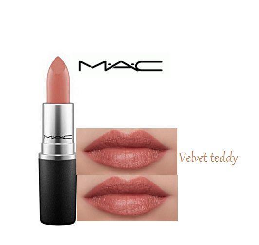 imported combo mac lipstick velvet teddy 3 gm: buy imported combo