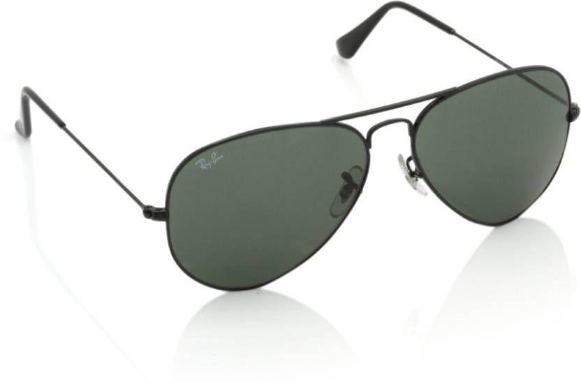 Ray Ban Avaitor Green Aviator Sunglasses ( aviator green )