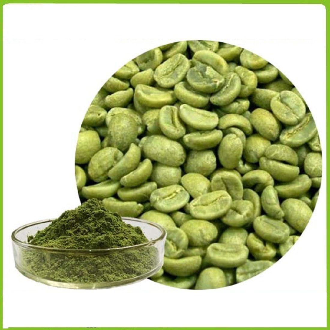 mycure Organic Green Coffee Beans Powder 400 x 2 Grams 800..